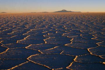 Tupiza to Uyuni Tour - Sunrise at the Bolivian Salt Flats