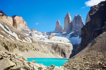 Torres del Paine mountains, Patagonia, Chile.