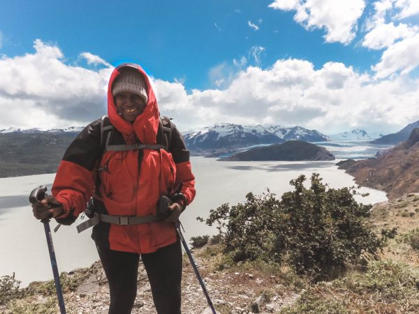 Julianna Barnaby at Lago Grey Torres del Paine