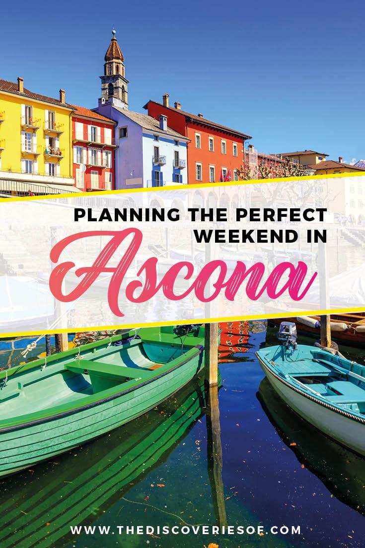 Ascona Switzerland - Perfect European City Break I Travel I Beautiful Landscapes I Delicious Food I Locarno #travel #switzerland #citybreak #europe