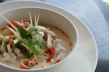 Thai Food Recipes - Chicken and Coconut Milk Soup