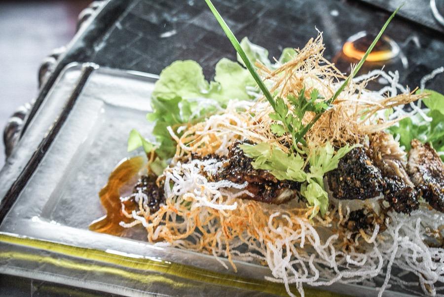 Deep fried Thai fish