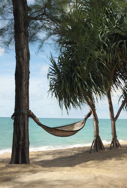 Hammock by the sea at Anantara Mai Khao