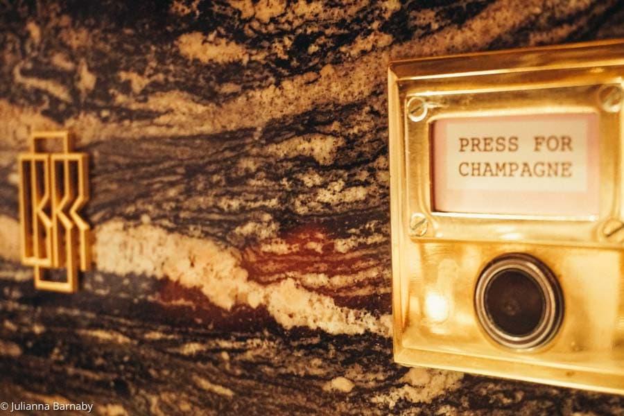 Press for Champagne at Bob Bob Ricard