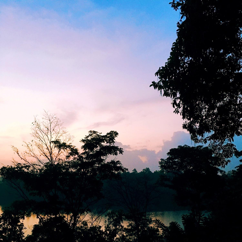 Sunrise at Tri Hotel Koggala Lake