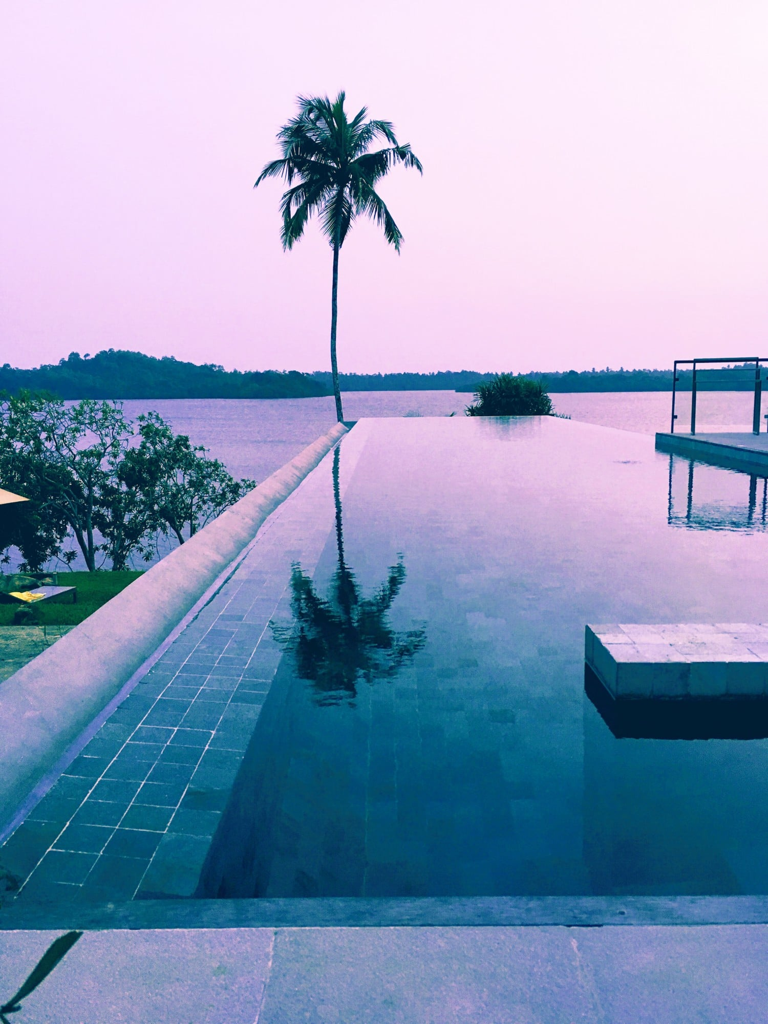Pool at Tri Hotel Sri Lanka
