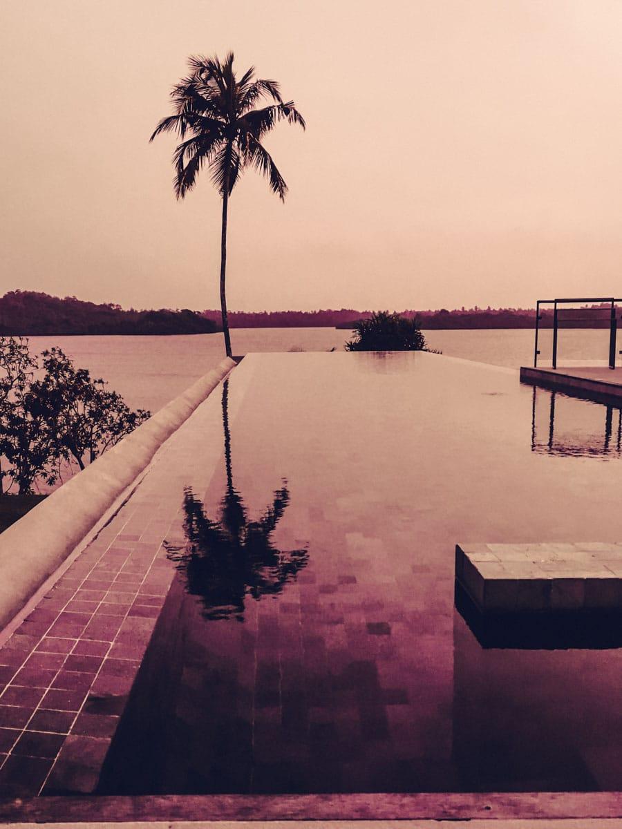 Infinity Pool at Hotel Tri
