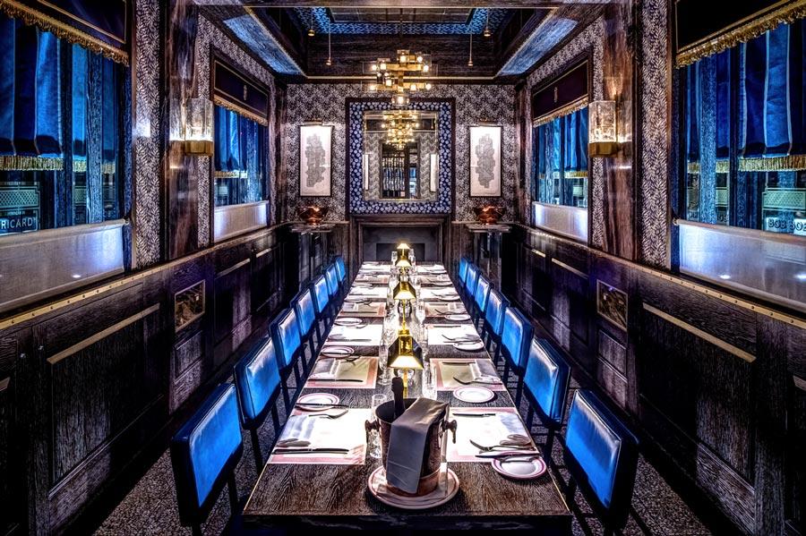 Bob Bob Ricard Private Dining Room