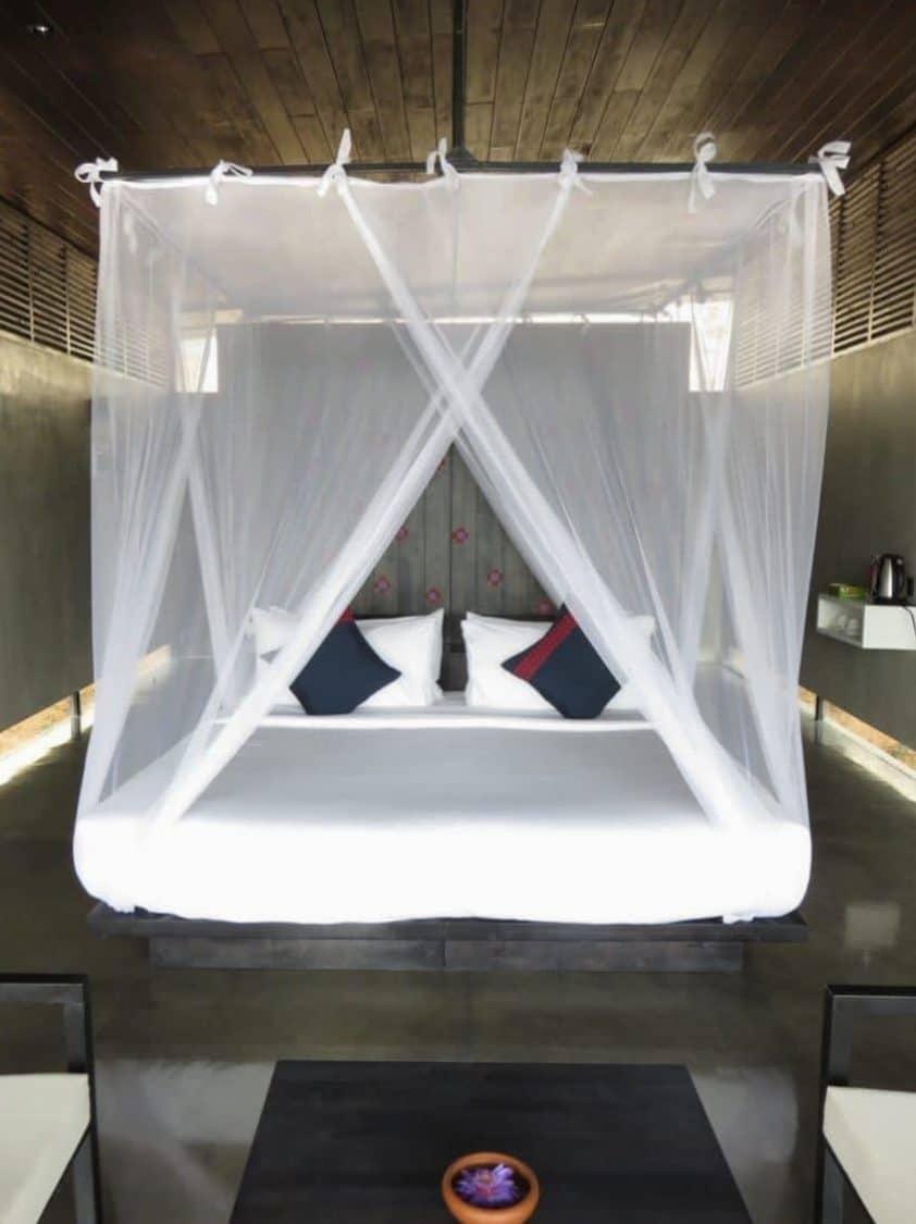 Bedroom in private villa