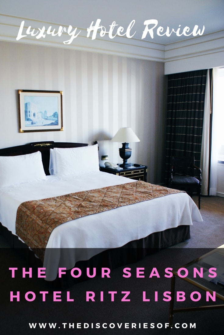 The Four Seasons Hotel Ritz is Lisbon's Ultimate Luxury Hotel and the perfect destination for a luxury weekend in Lisbon.