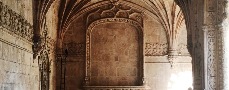 San Jeronimos Monastery Lisbon in Belem