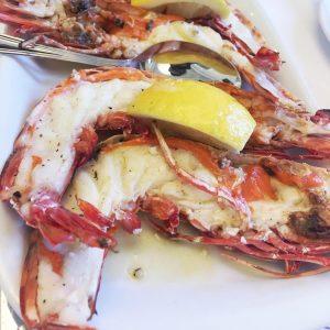 Grilled Prawns - Seafood at Cervejaria Ramiro