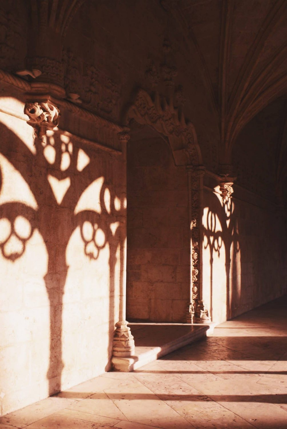 Architectural detailing in the San Jeronimos Monastery