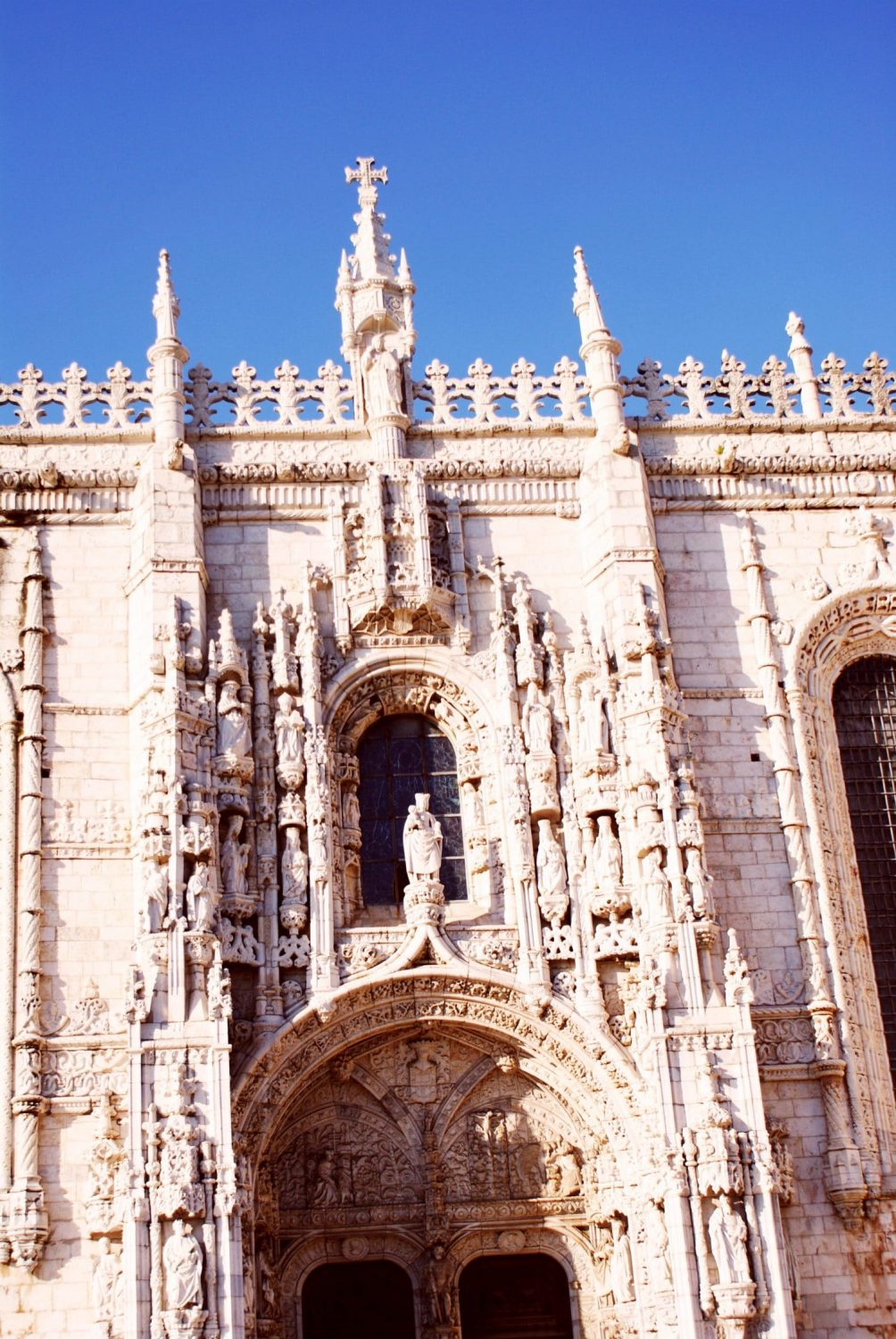 South Portal - Jeronimos Monastery in Lisbon
