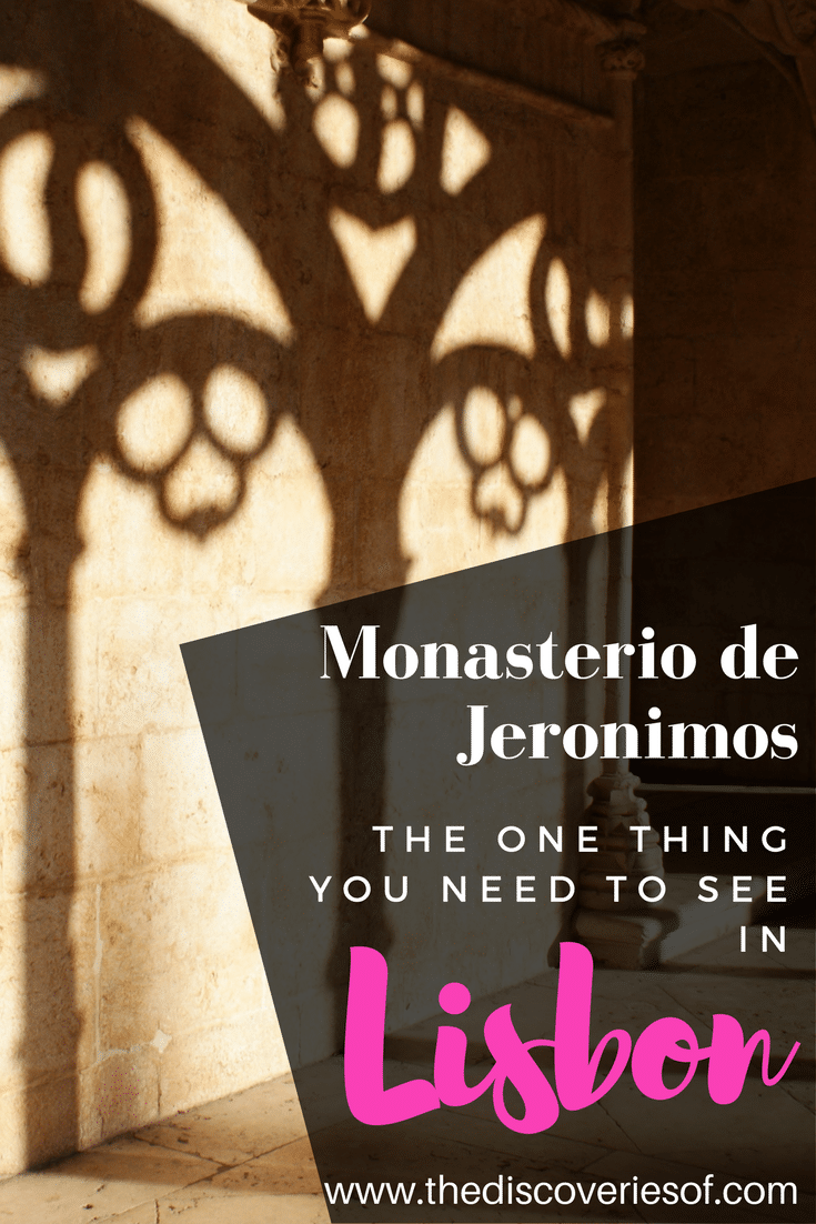The Jeronimos Monastery in Belem, Lisbon
