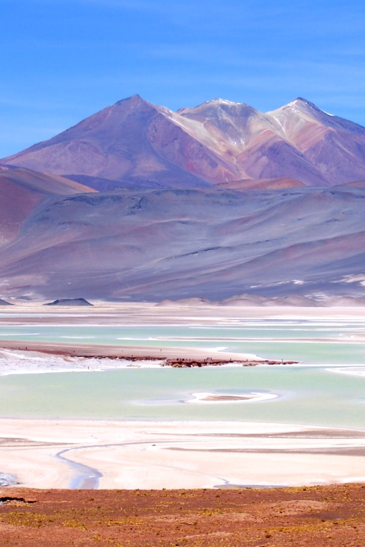 The Atacama Desert in Chile should be at the top of your travel bucket list. Flamingos, stars, coloured lakes and skies. Click for photos and inspiration from the world's driest desert