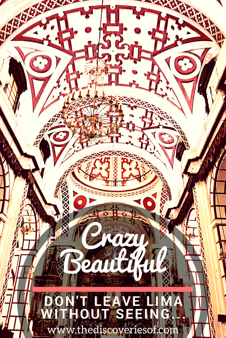 The Church and Monastery of San Francisco in Lima, Peru is one of South America's finest examples of baroque colonial architecture complete with the biggest catacombs in Lima. Read about this beautiful space and why it's the top thing to do in Lima...