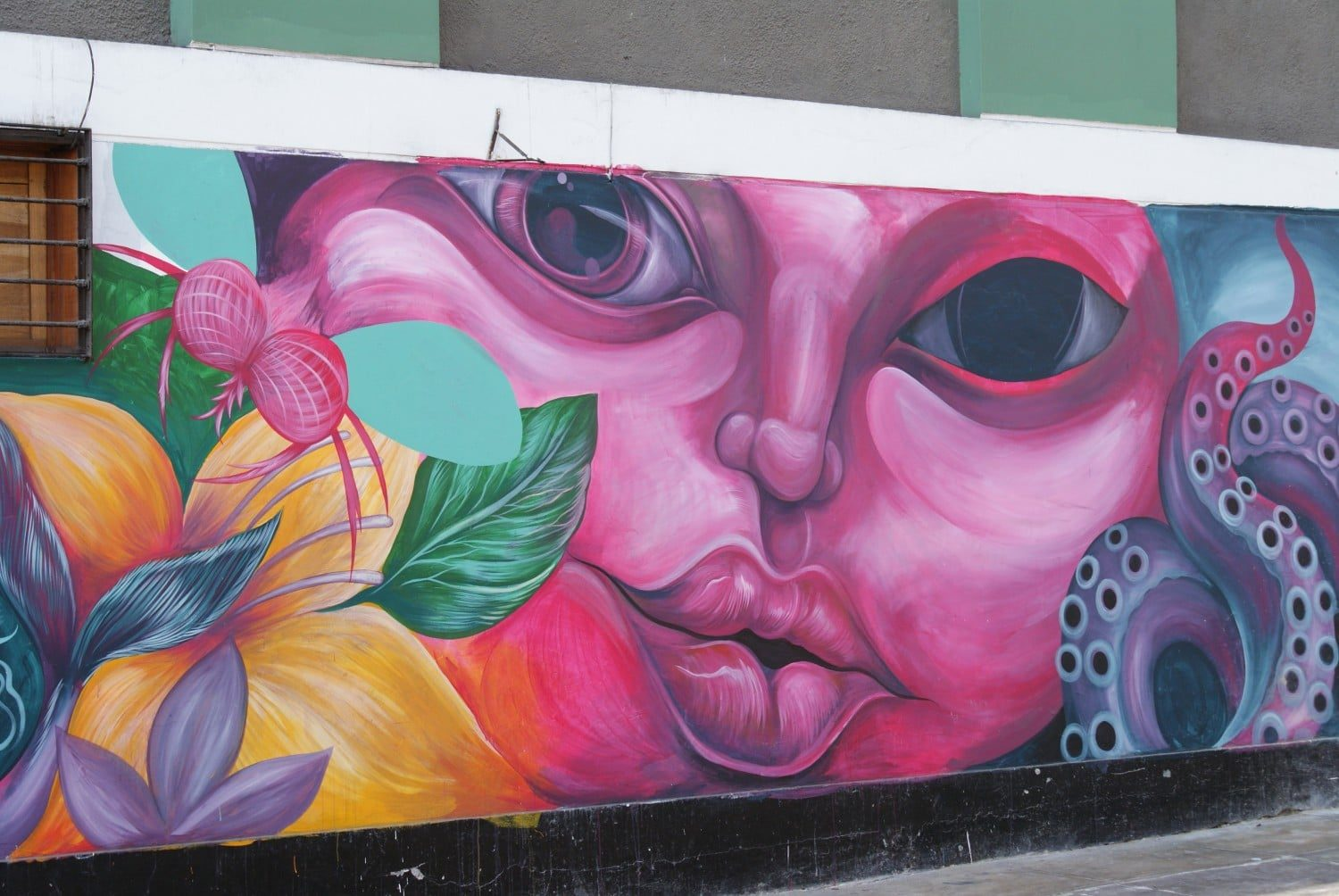 Urban Mural in Lima