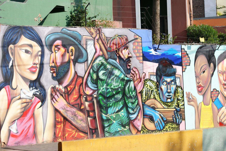 Street art tour in Lima