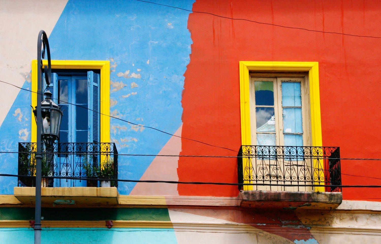 La Boca, Buenos Aires Colourful Houses