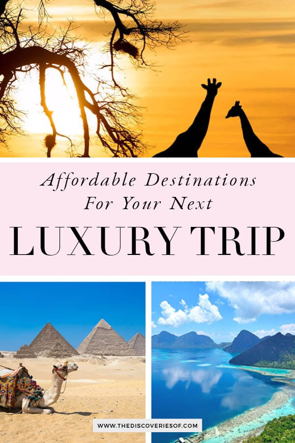 Cheapest Luxury Trip