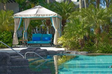 Best Luxury Hotels in Barbados - Colony Club Pool Gazebo