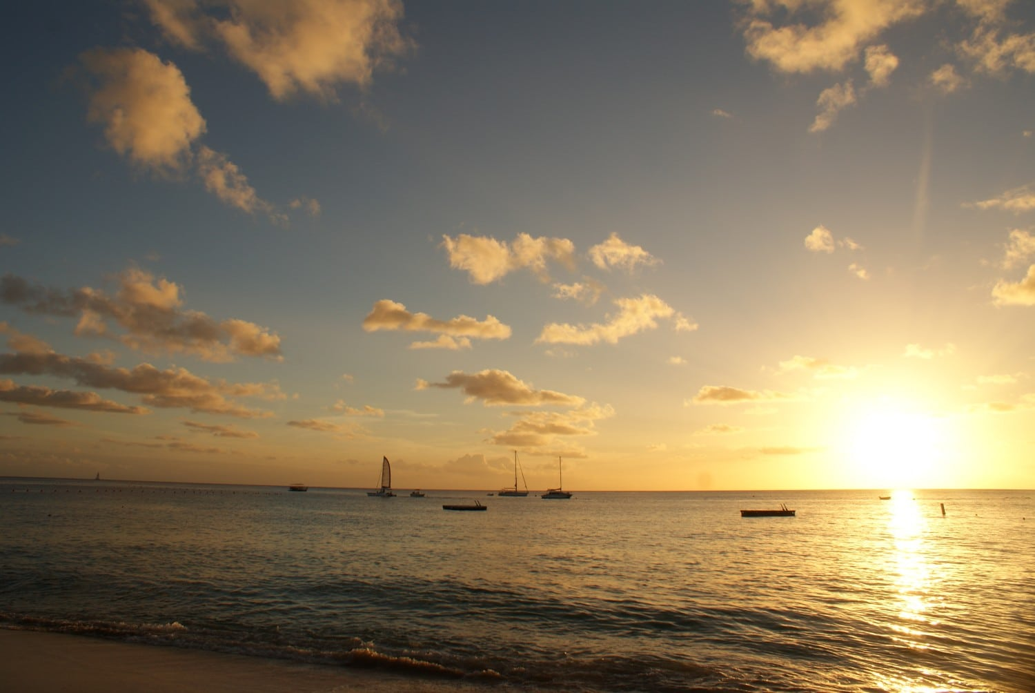 Sunset at The Colony Club, Barbados