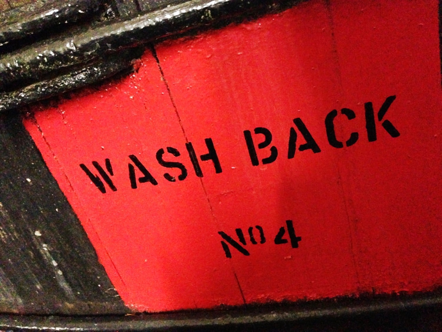 Wash Back - Kilchoman Distillery
