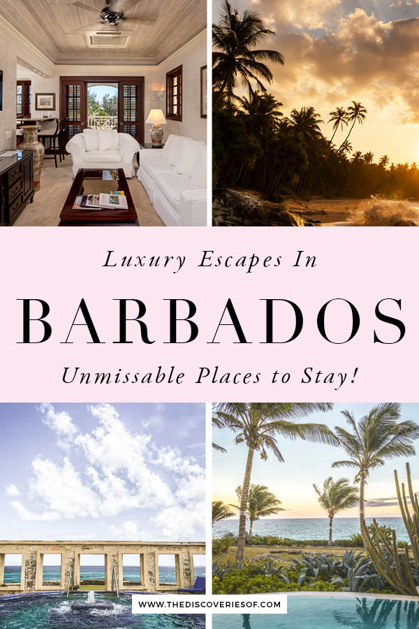Luxury Hotels Barbados