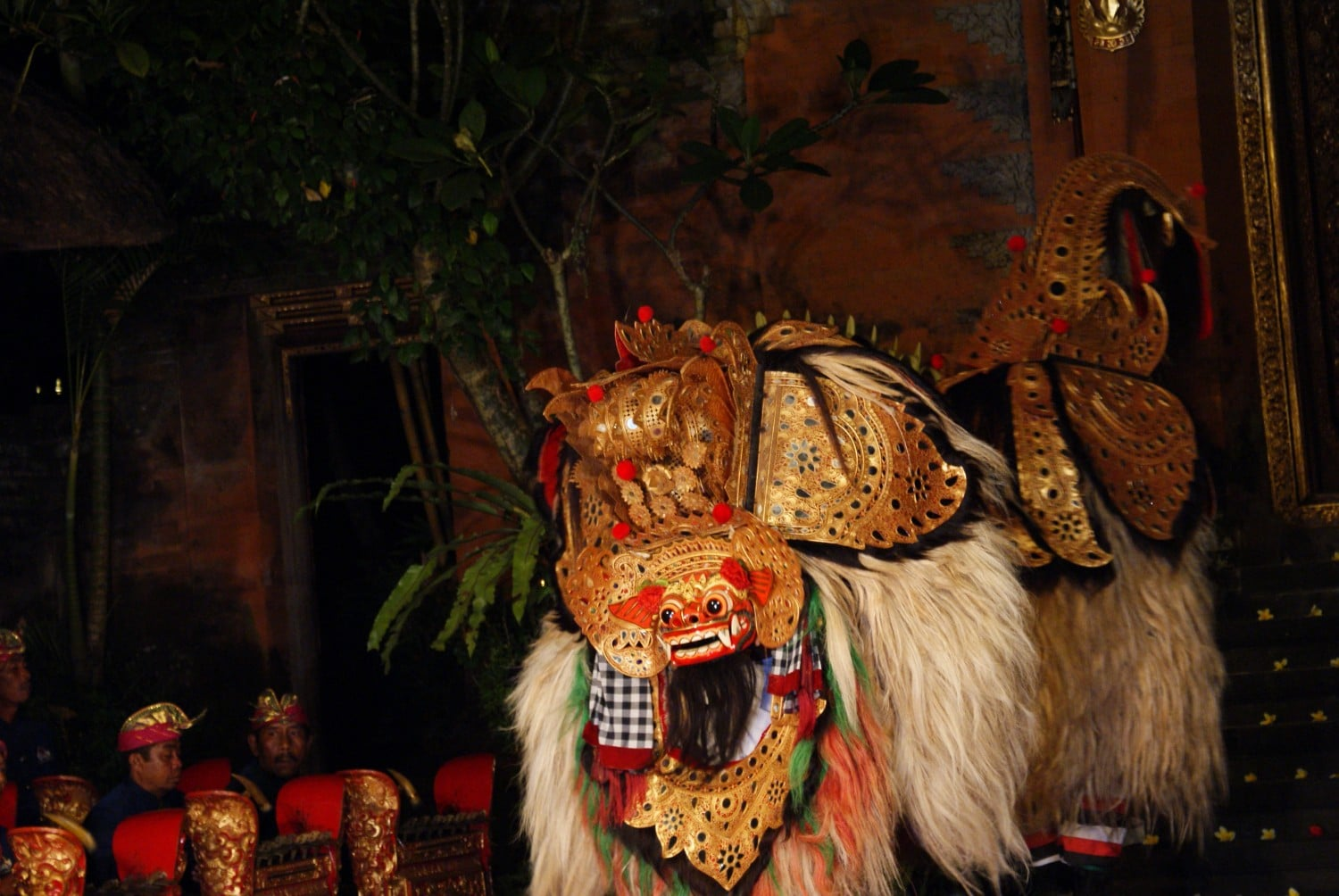 Exuberant costumes in Balinese Dance