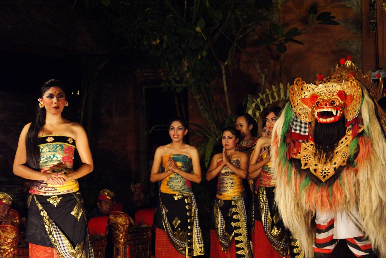 Balinese Dances at Ubud Palace