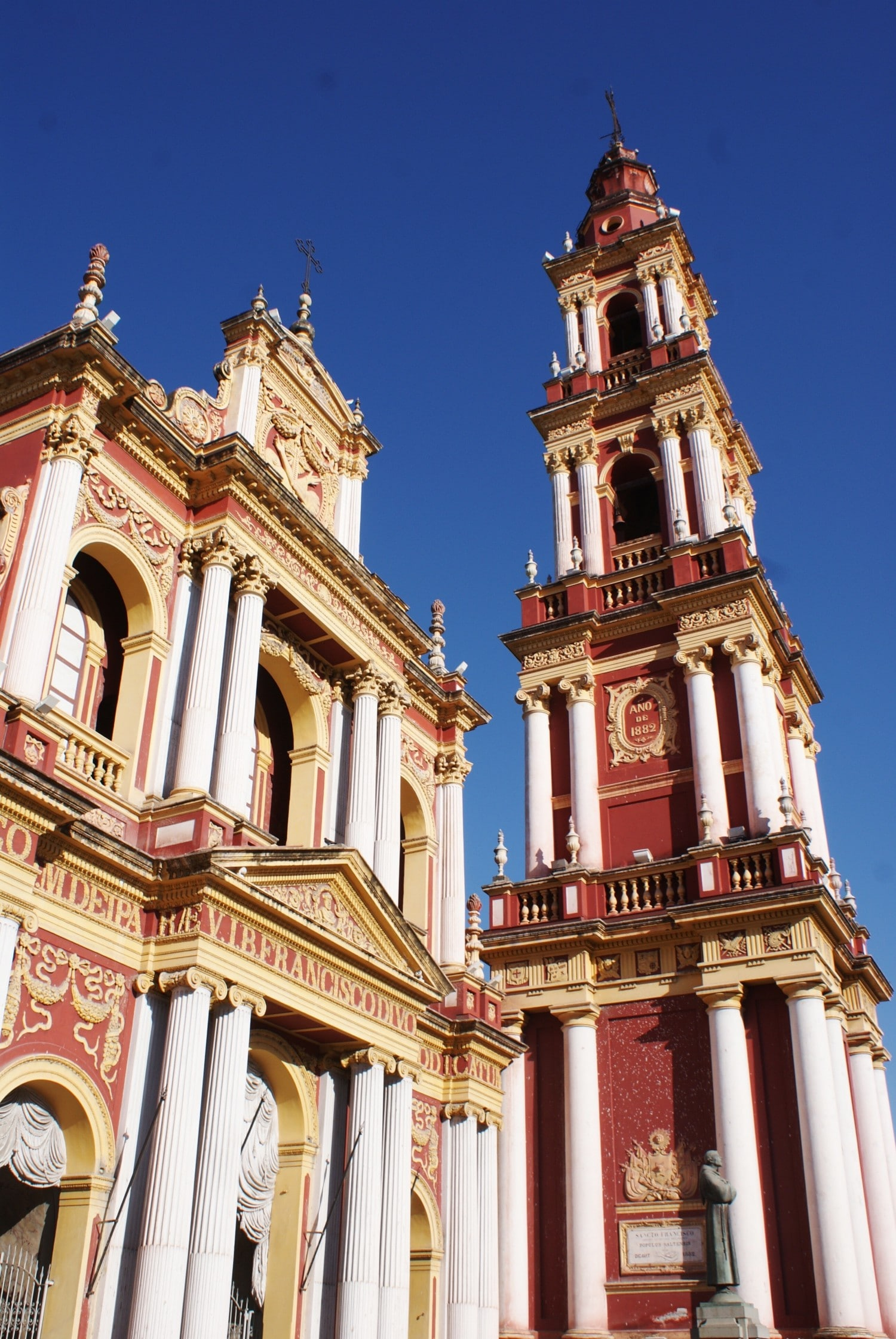 Iglesia San Francisco, Salta - one of the highlights in Argentina