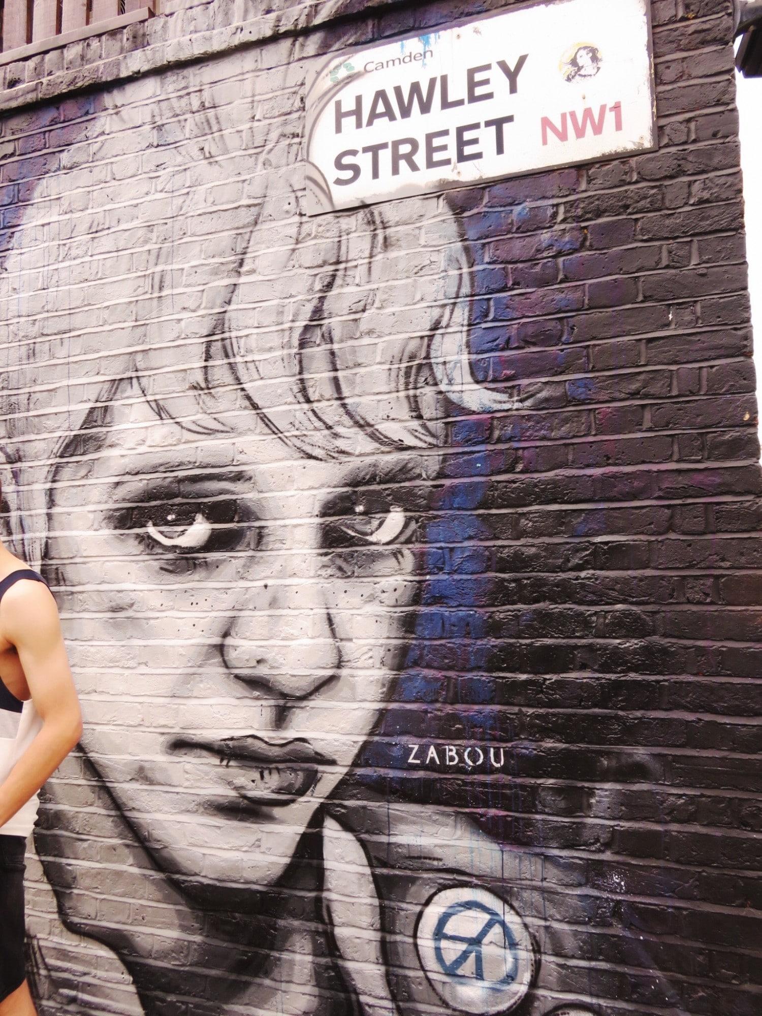 Zabou - Hawley Street - Camden Street Art