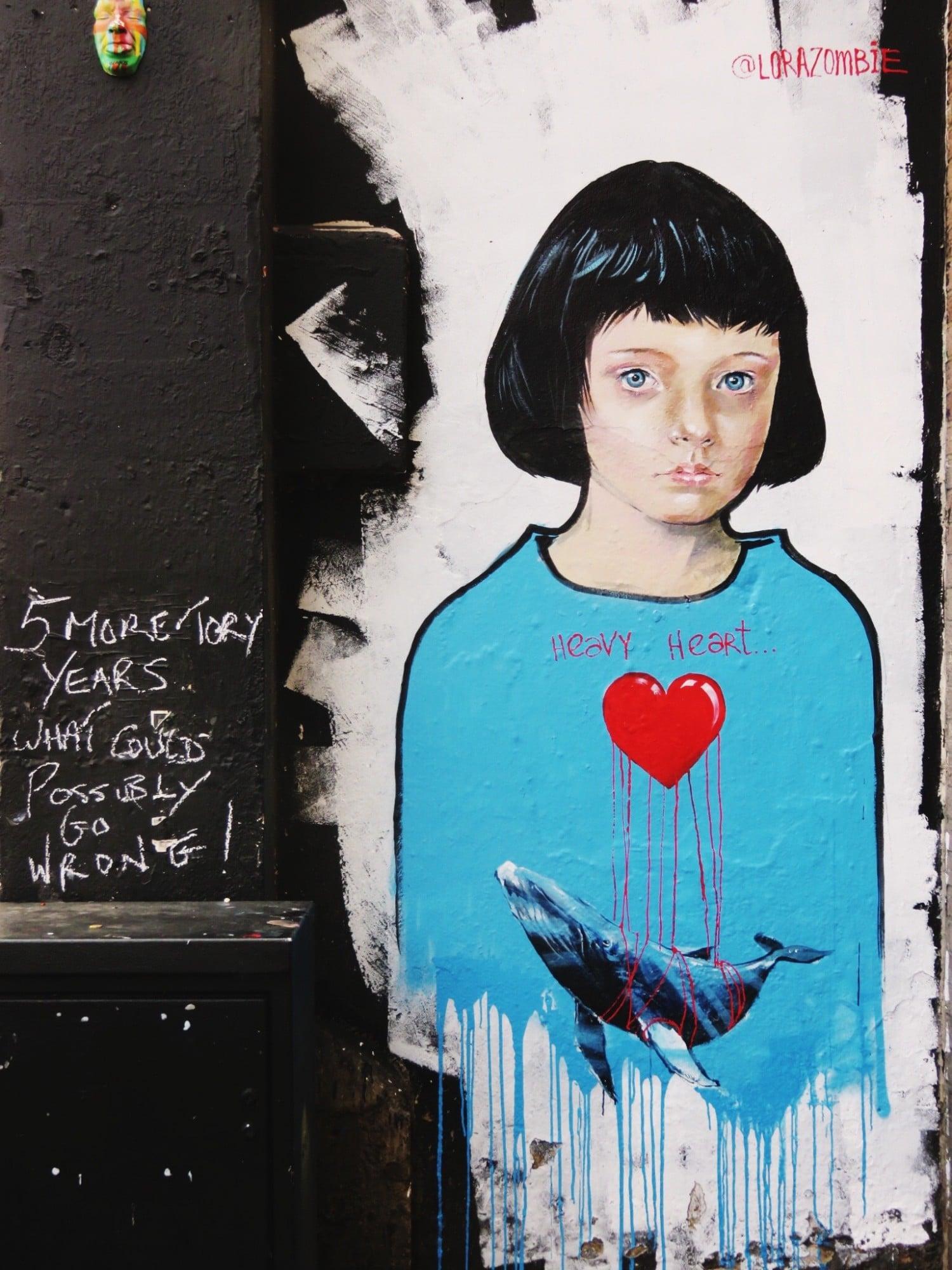 Lora Zombie - Heavy Heart - Camden