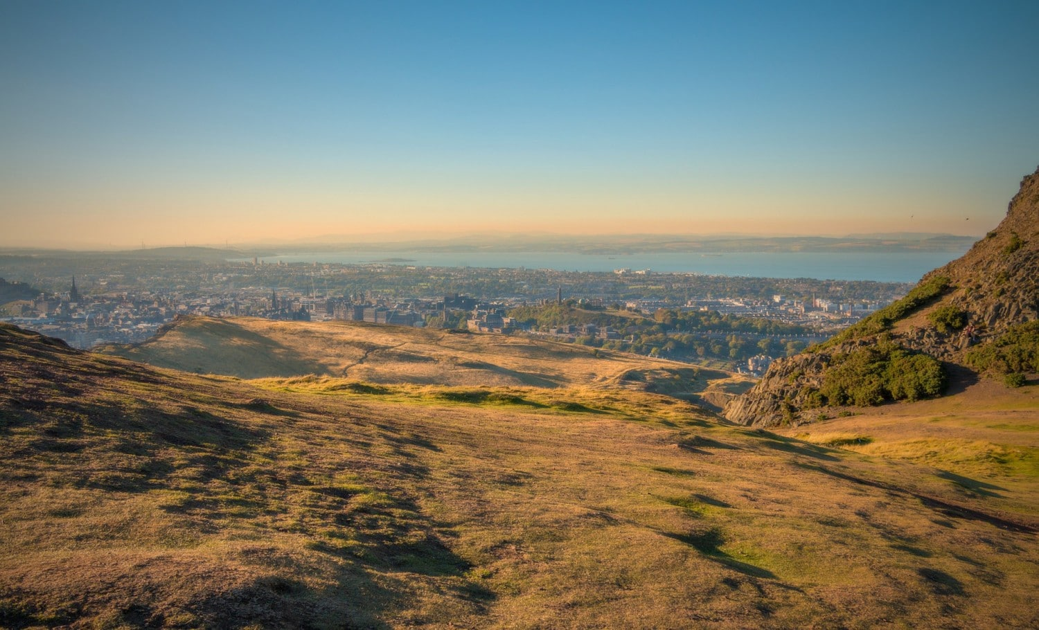 Climb Arthurs Seat Edinburgh on a British Weekend Break