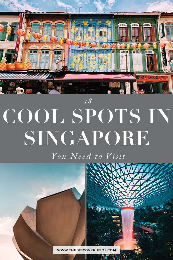 Cool Places to visit in Singapore