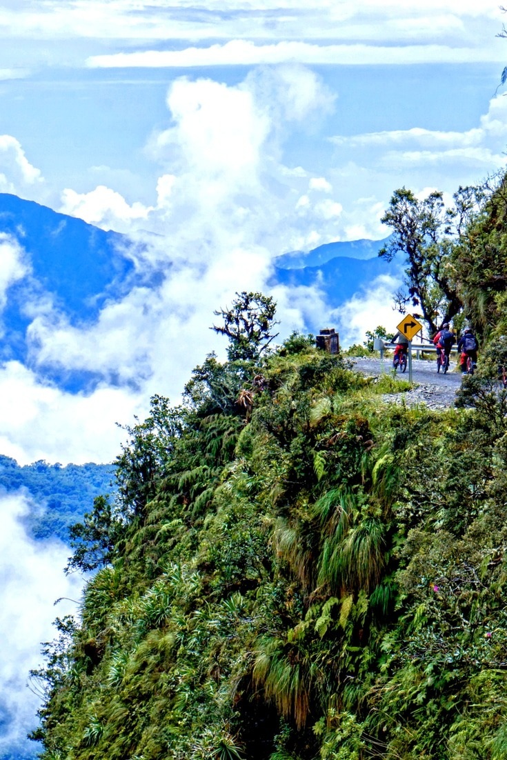 Cycling down the Death Road in Bolivia is a high-octane adrenaline-fuelled travel adventure. Click to read our guide to the 15 most epic outdoor adventures around the world