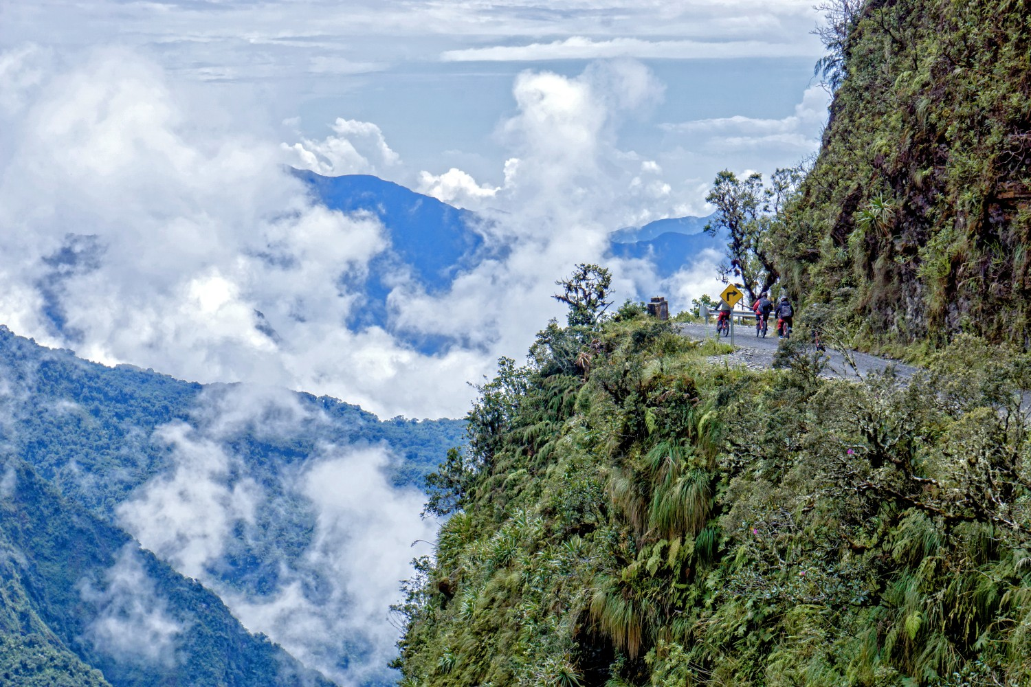 Cycling Down the Death Road in Bolivia