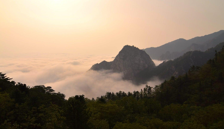 Hiking Seoraksan National Park South Korea