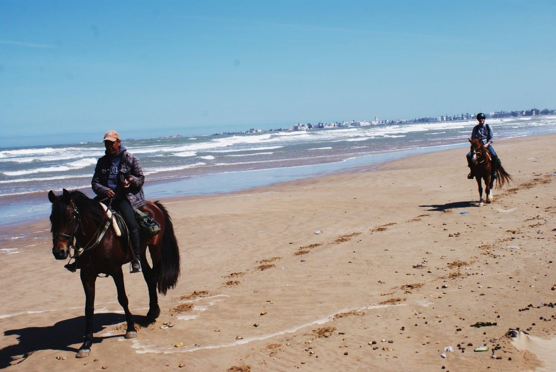 Riding at Ranch de Diabat