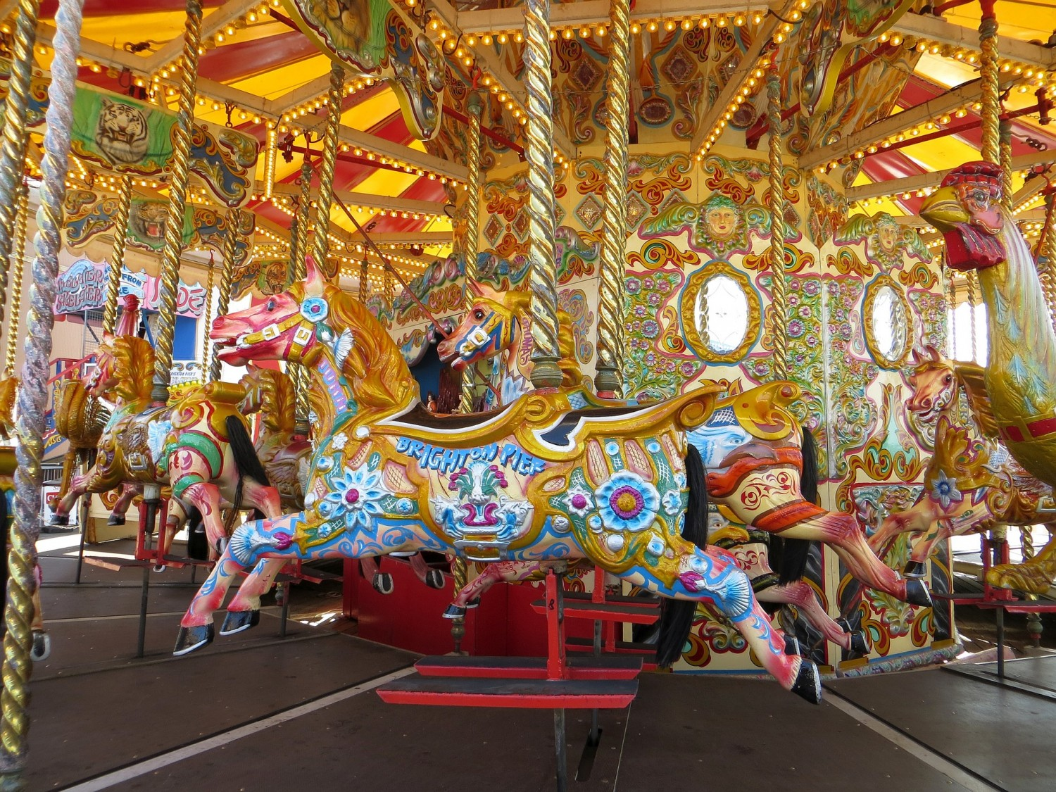 Merry Go Round on Brighton Pier