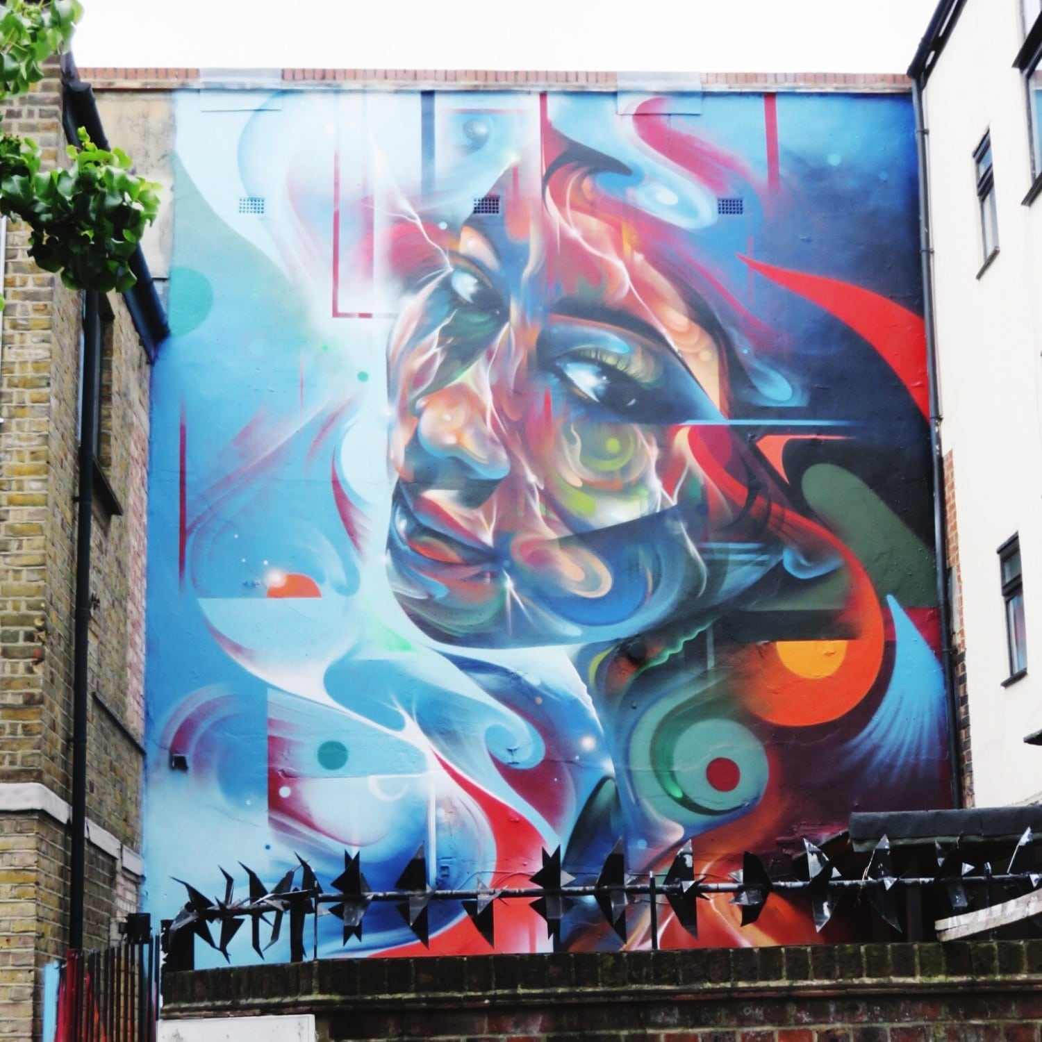 Mr Cenz - 5th Base Gallery Street Art in Shoreditch