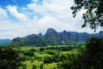 Rock Climbing in Vang Vieng - Adventures in Laos