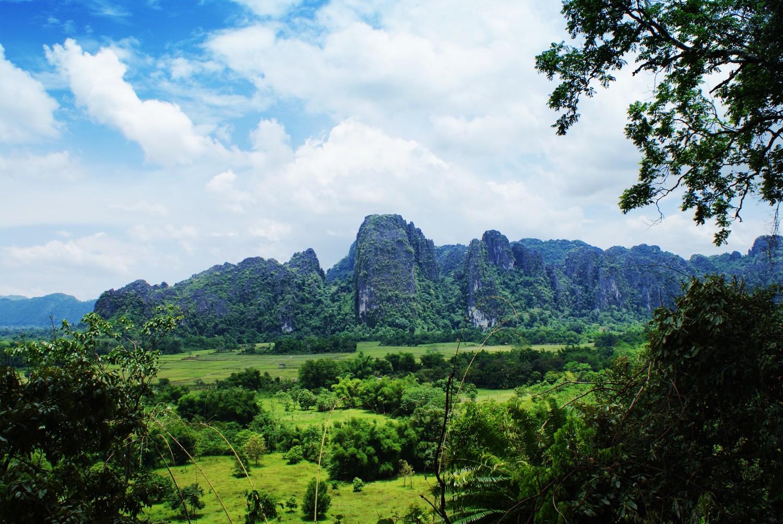 Rock Climbing in Vang Vieng - Adventures in Laos