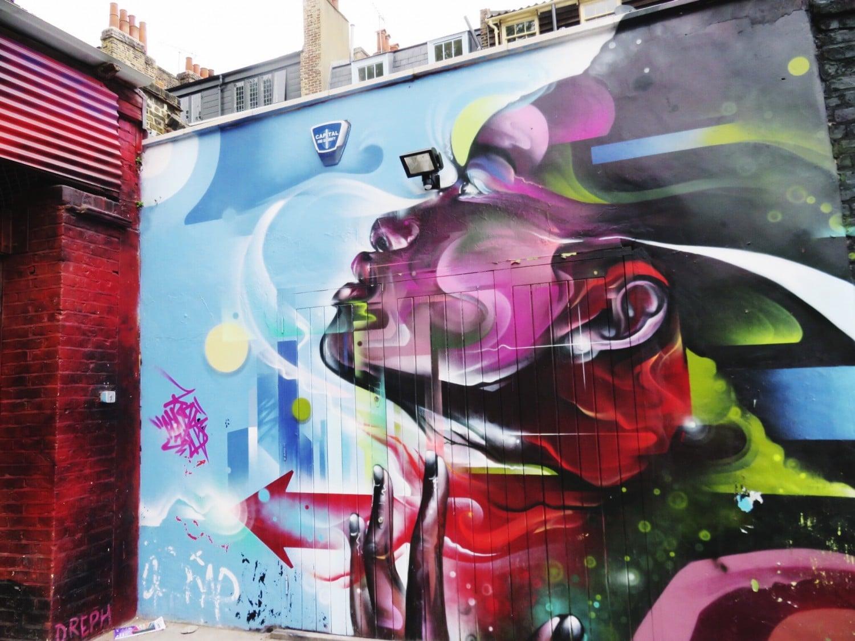 Shoreditch Street Art - Mr Cenz