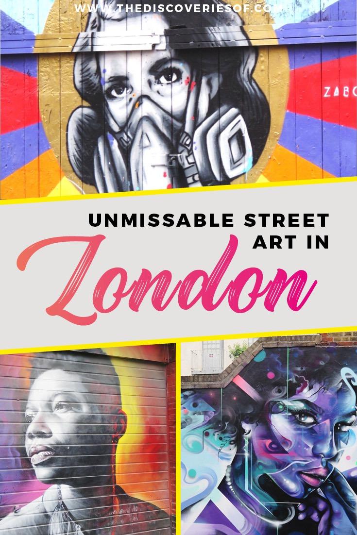 Street art in London I Meaningful Street Art I Shoreditch I London I Things to do in London I Street Style #streetart #london