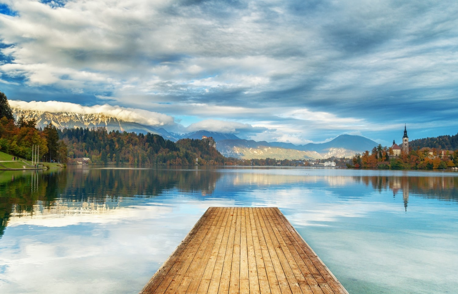 Lake Bled is a stunning destination in Slovenia