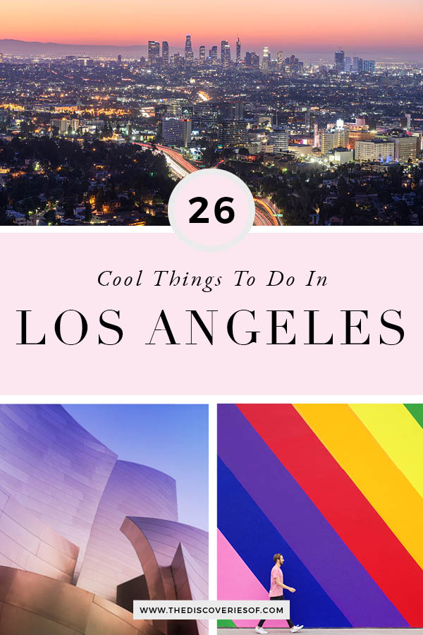 Cool things to do in LA