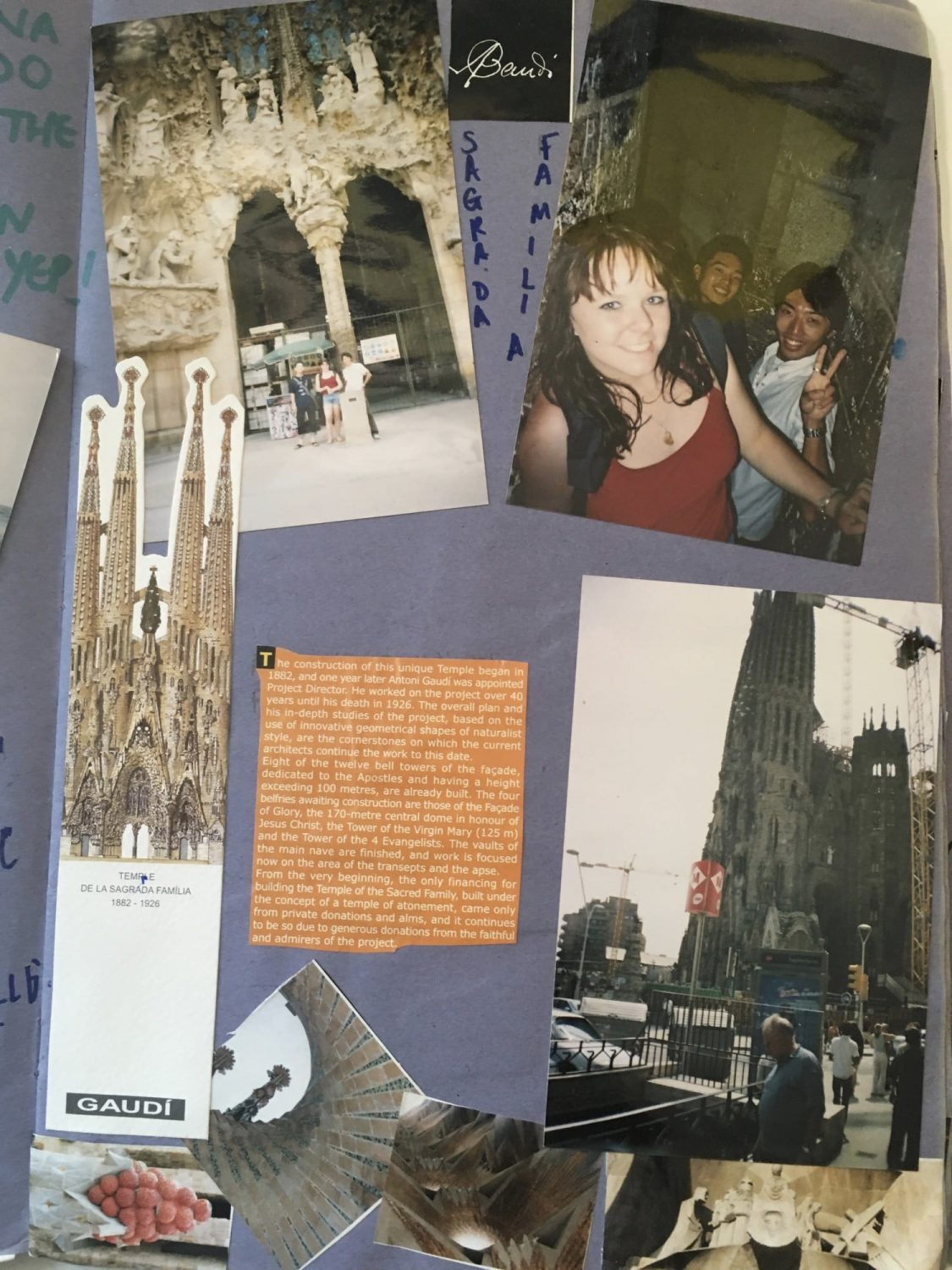 My travel scrapbook - Julianna Barnaby. What makes us travel?