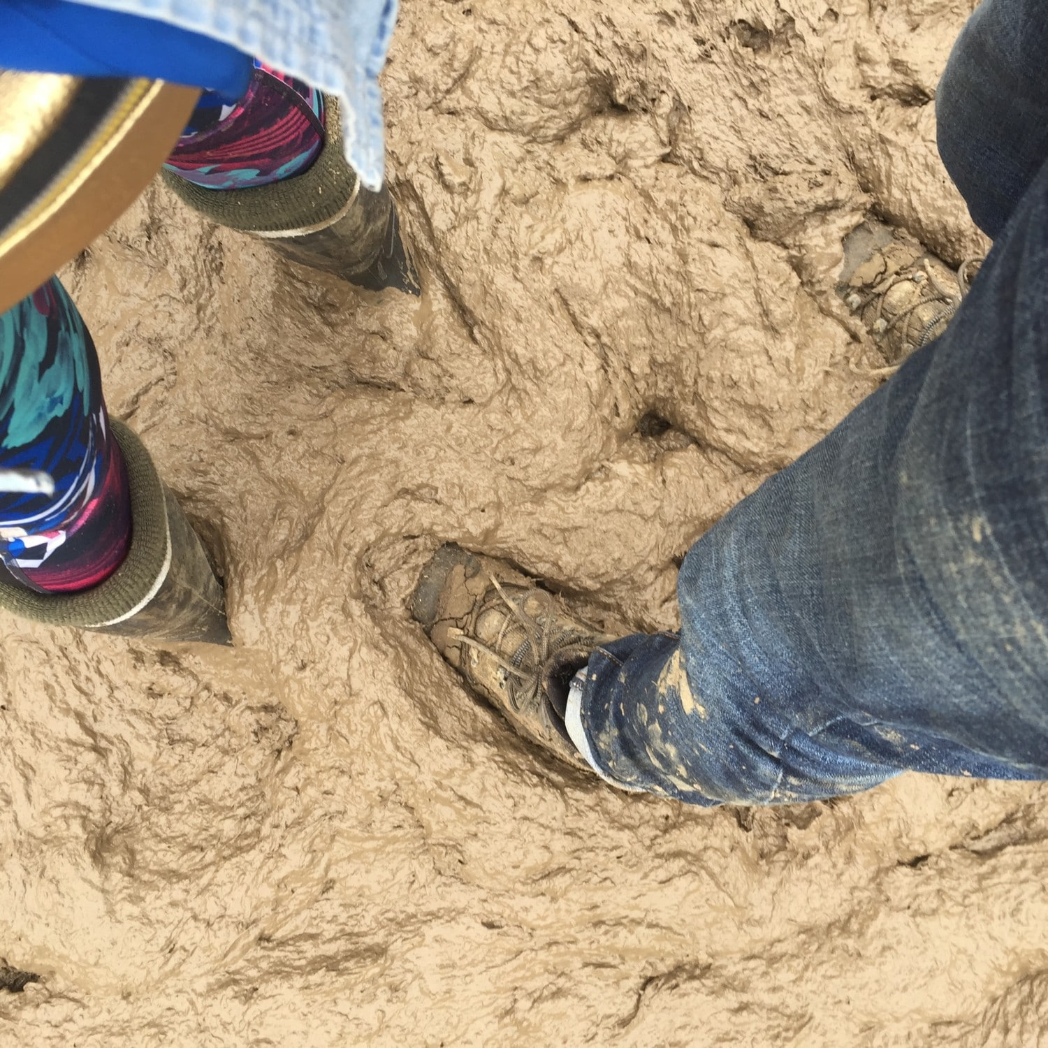 You should always have wellies on your packing list for Glastonbury